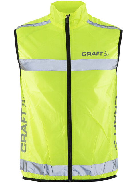 Craft Visibility - Chaleco running - amarillo